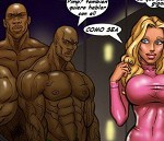 comic xxx interracial