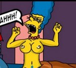 comic porno marge simpson